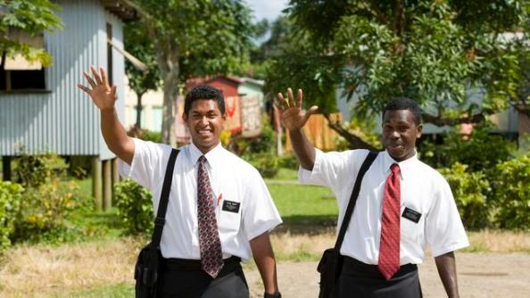 About Those Missionaries . . .